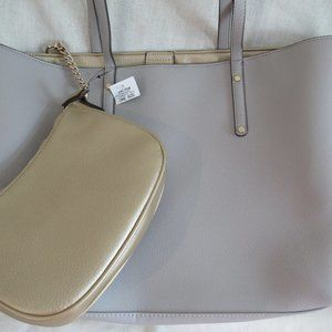 Large with small 2 in 1 Zoiey Tote Handbag INC